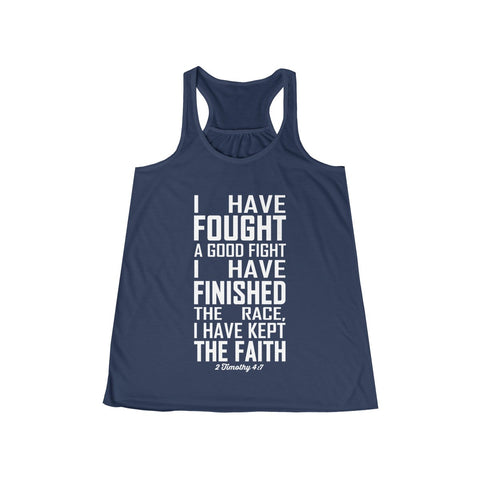 My Quiet Time Involves Heavy Metal Flowy Workout Racerback Tank