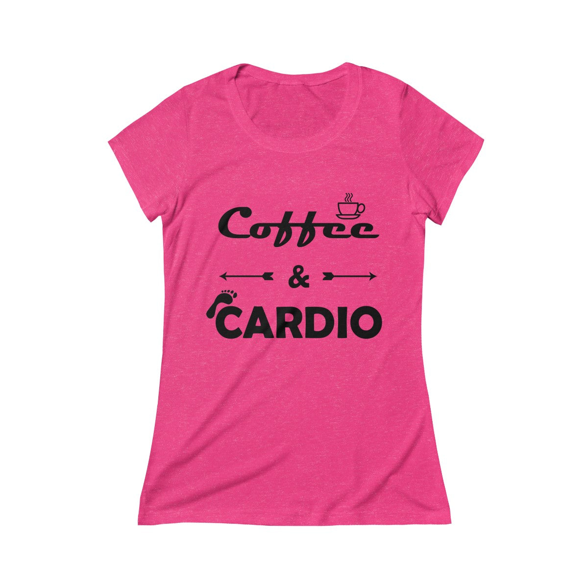 Coffee & Cardio Women's Crew Tee