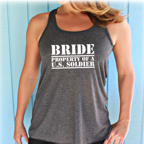 4 or 5 Bridesmaid Shirts. Military Bride Tank Top. Bridal Party. Wedding Gift. Bachelorette Party. Bride Shirt. Bride Gift.