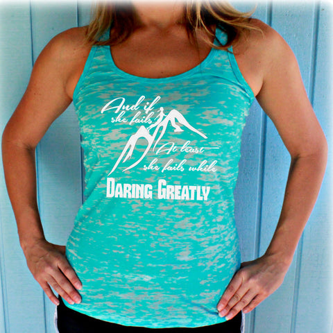 They Shall Run and Not Grow Weary Bible Verse. Christian Womens Flowy Workout Tank Top. Motivational Tank. Running Tank Top.