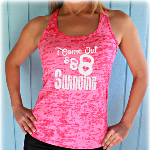Burnout Workout Tank Top. Inspirational Quote. I Wear All Black When I Workout. Cute Womens Workout Clothes. Fitness Motivation.