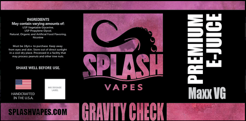 Gravity Check Maxx  VG