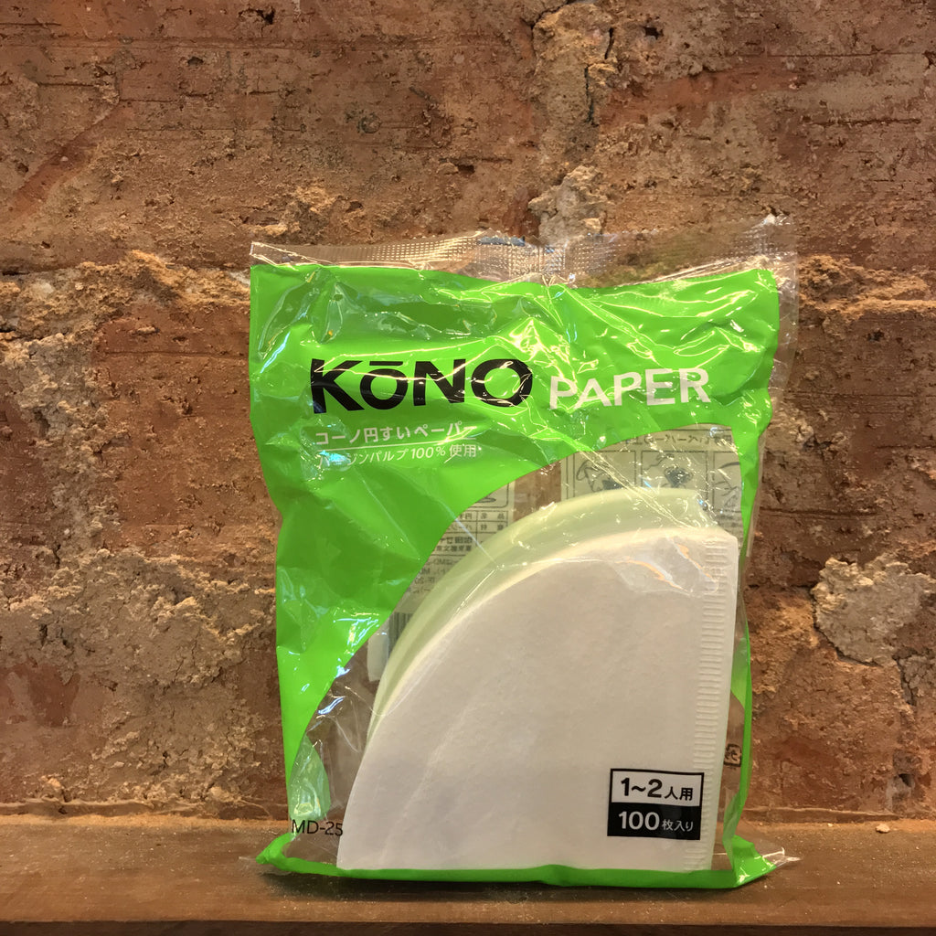 Kono Coffee Filter Paper (White)