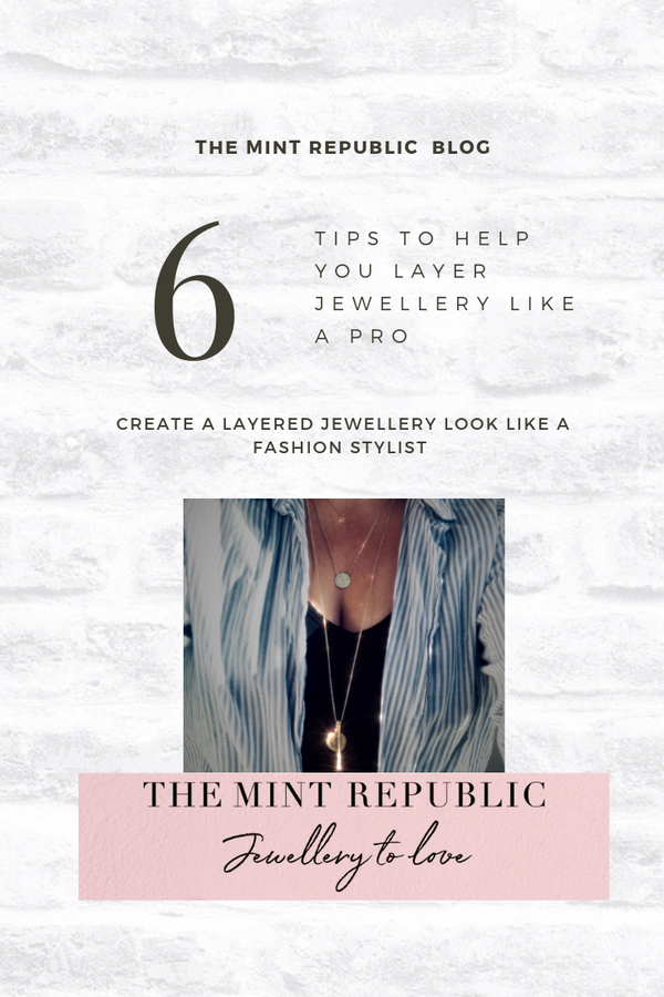 6 tips to help you layer necklaces like a pro!