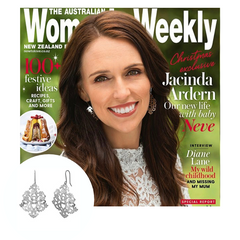 Jacinda Adorn wearing Solaris Earrings