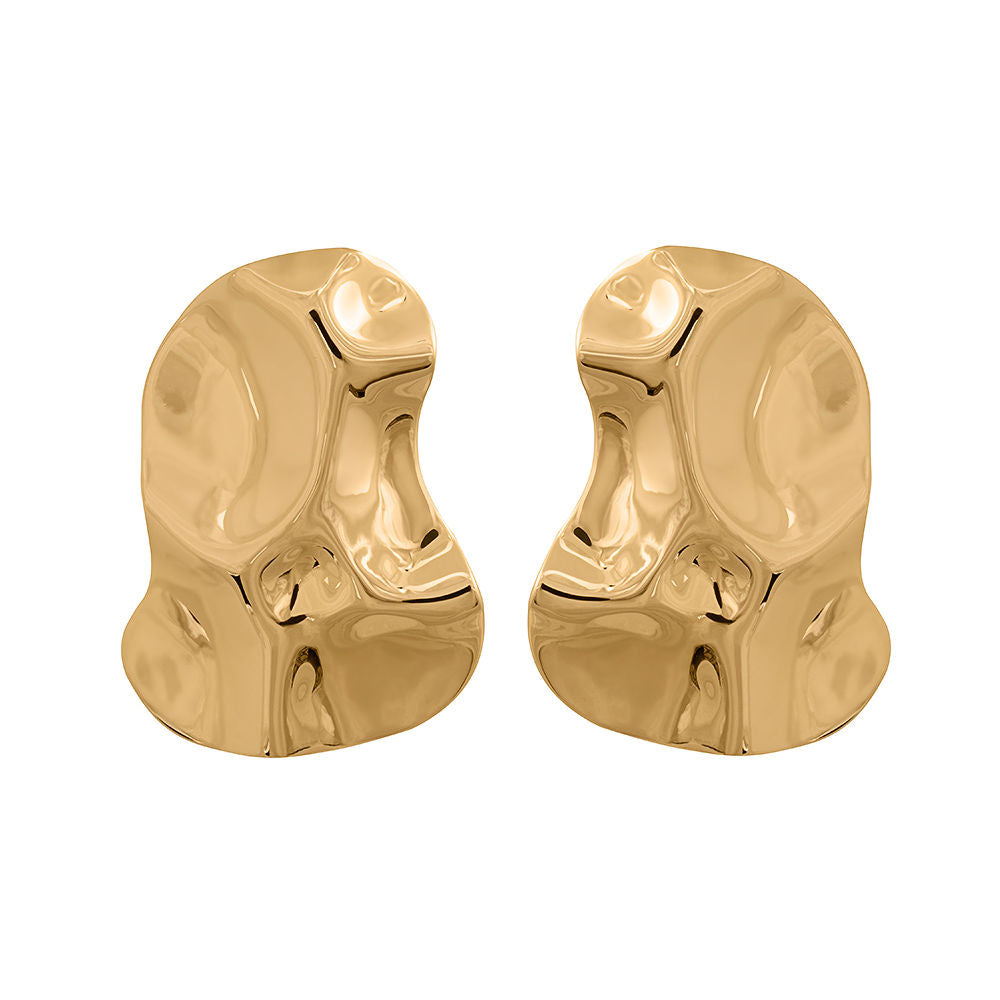 Republic Road Mirer Exquisite Studs Gold