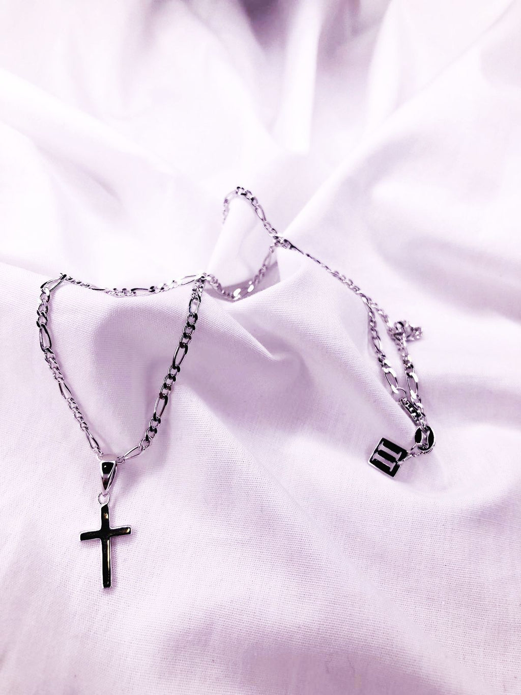 The Cross Mini Pendant Silver