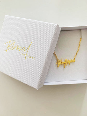 Baby Mama Necklace Mini Gold