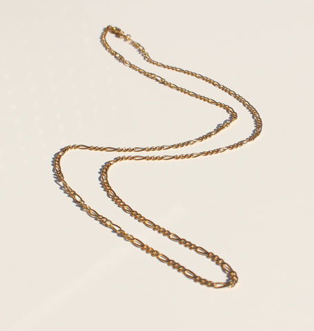 Figaro Chain Gold * Online Only