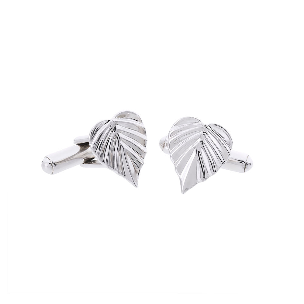 Wild | Heartspace Cufflinks |Sterling Silver |The Mint Republic