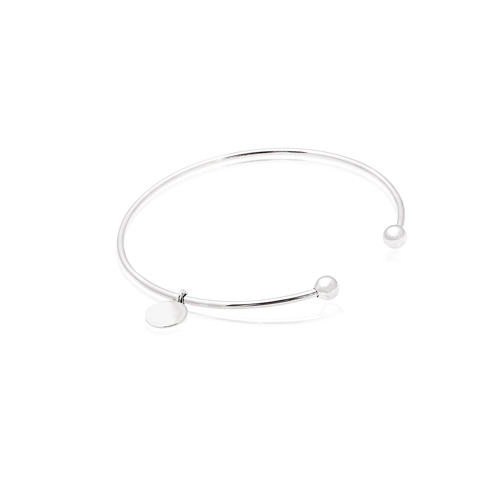 Blessed Bangle with Divine Charm