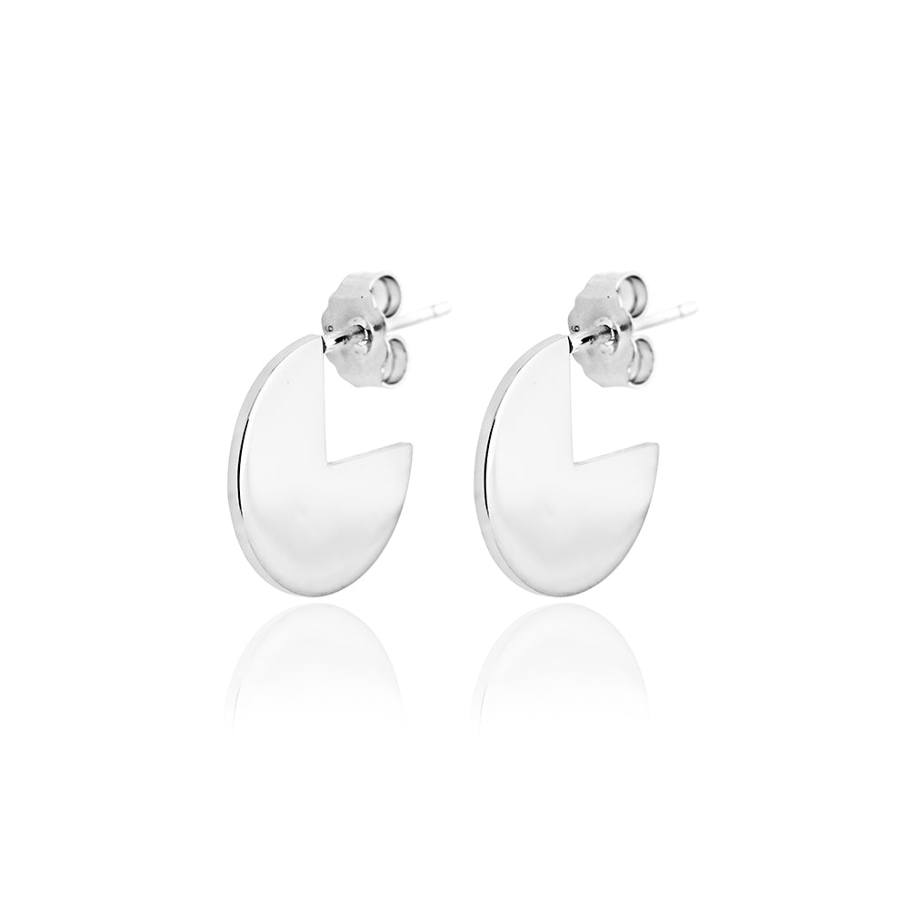 Lindi Kingi Deluxe Divine Earrings Silver