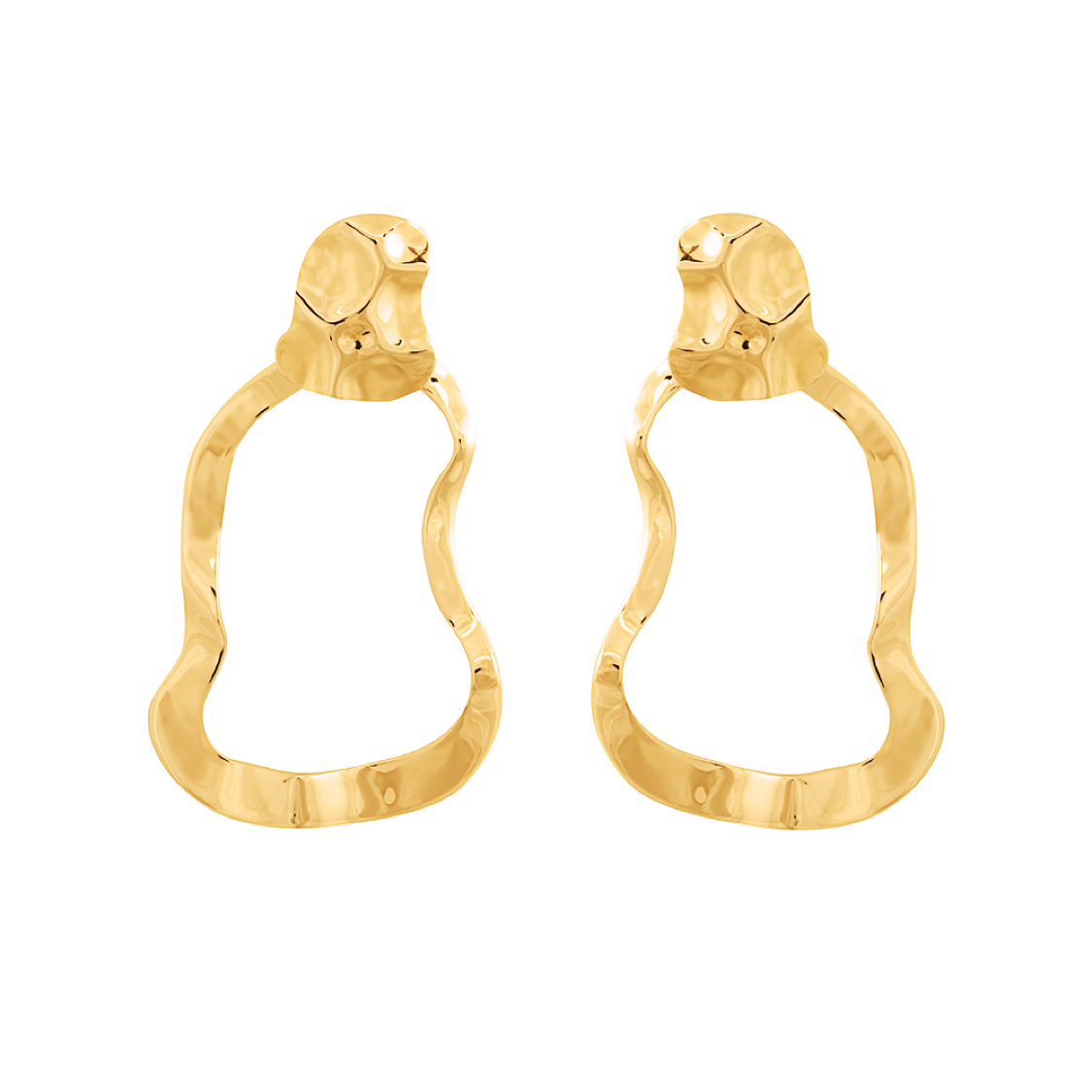Republic Road Mirer Reverie Earring in Gold | Available Now at the Mint Republic