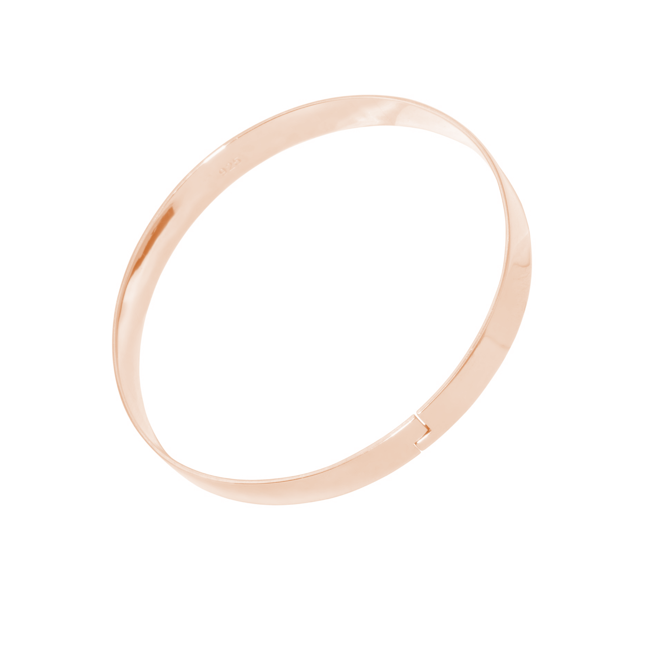 The Winding Road Bangle ROSE