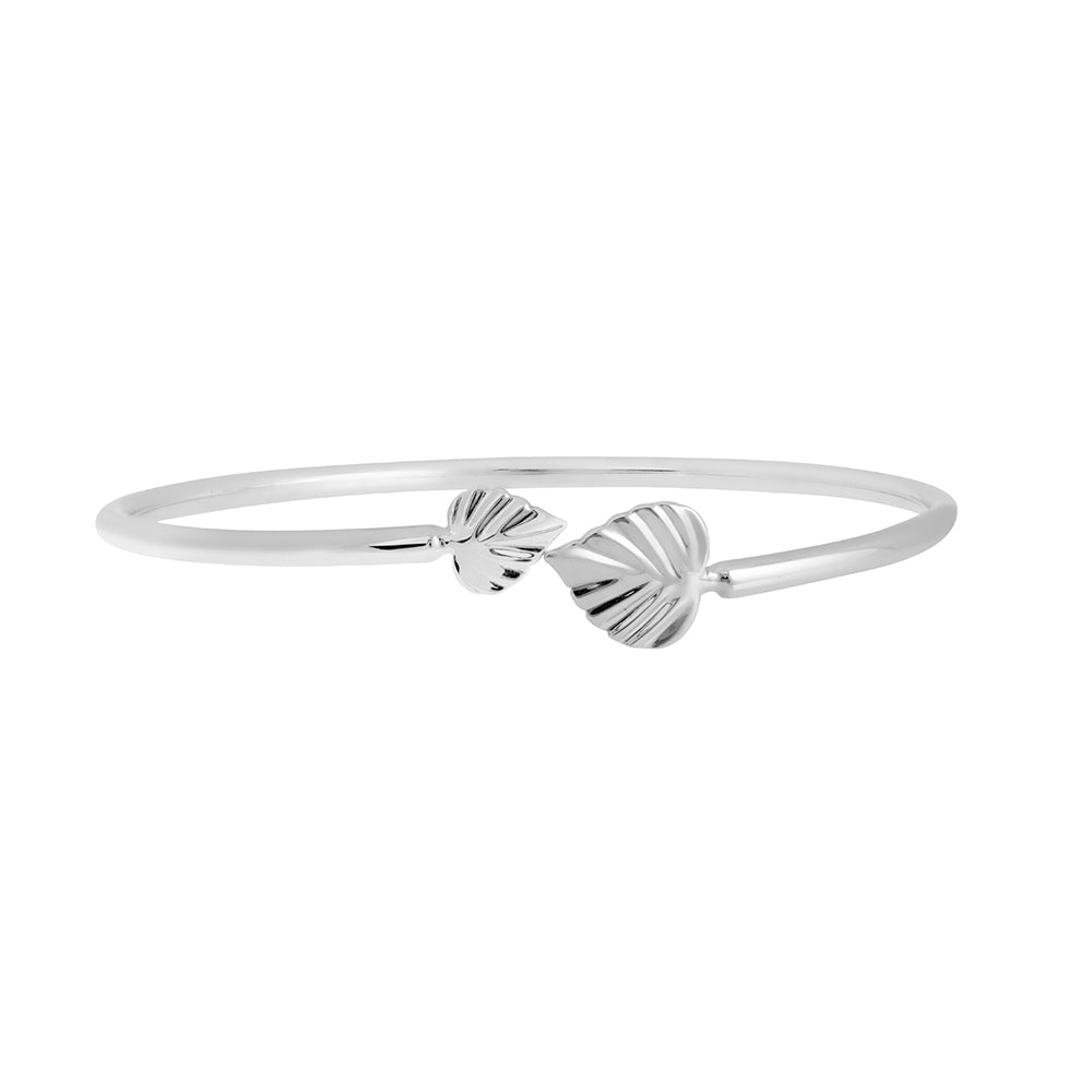 Wild | Heartspace Cuff Bracelet |Sterling Silver |The Mint Republic