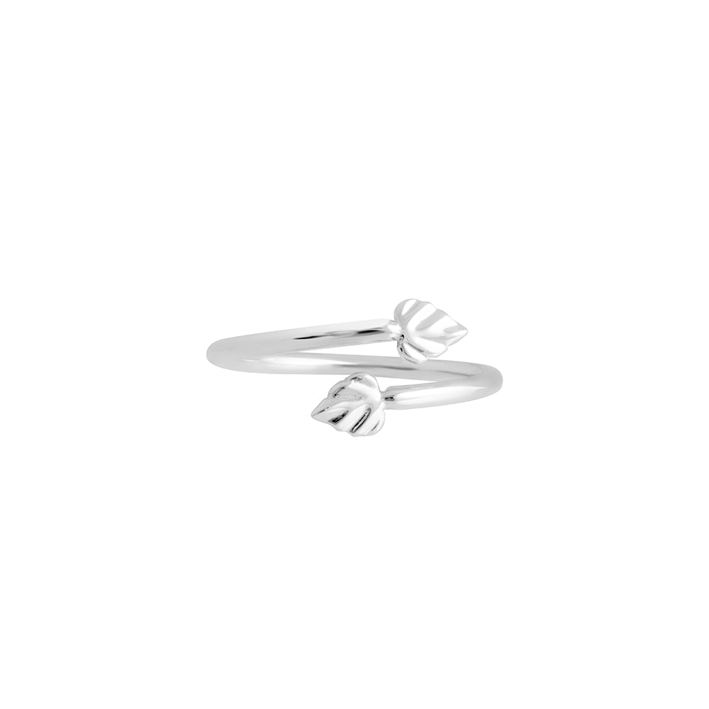 Wild | Heartspace Ring |Sterling Silver |The Mint Republic