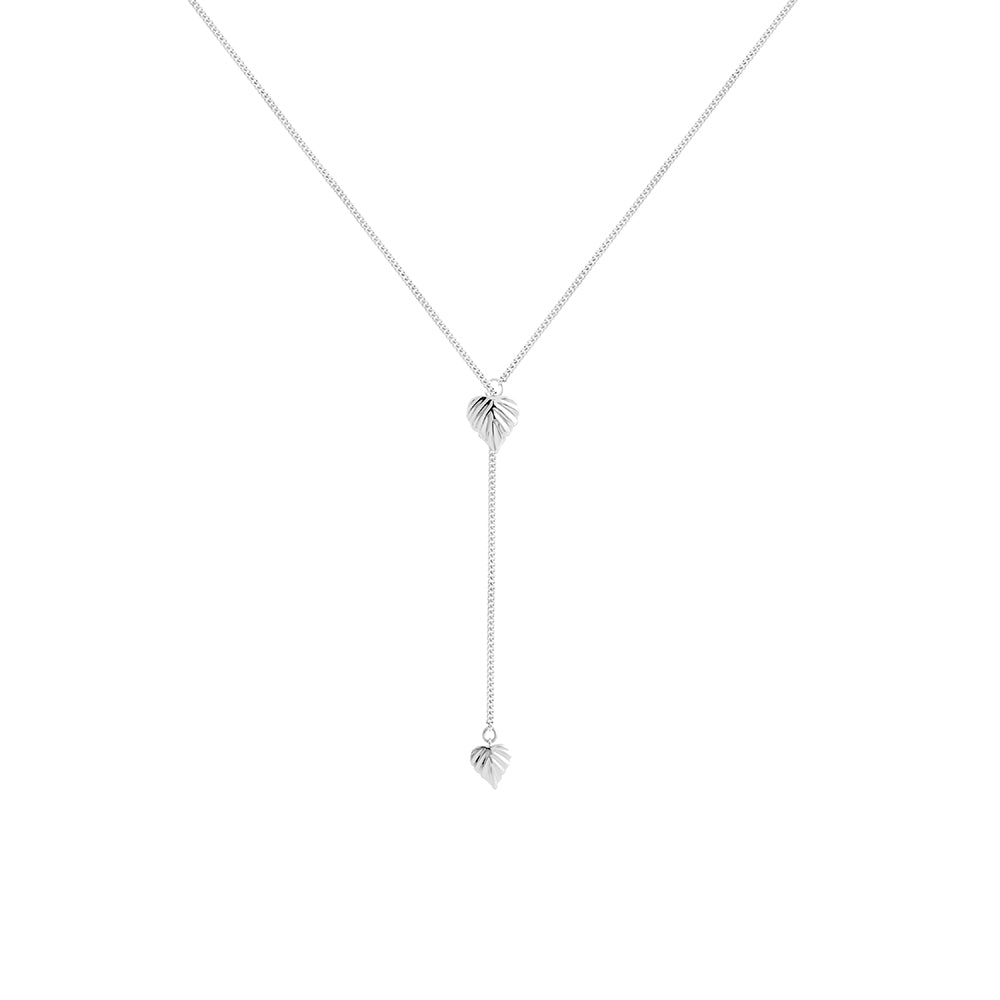 Wild | Heartspace Lariat Pendant  |Sterling Silver |The Mint Republic