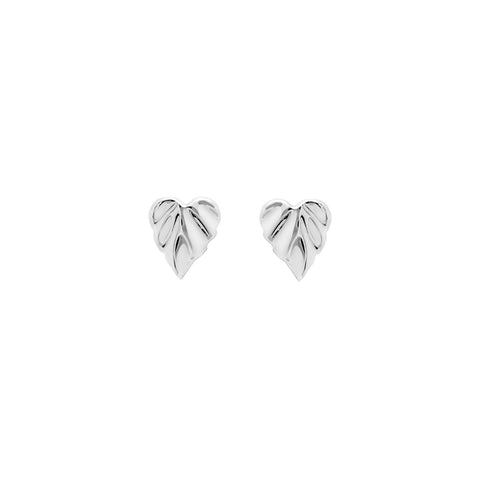 Wild |  Heartspace Micro Studs  |Sterling Silver  |The Mint Republic