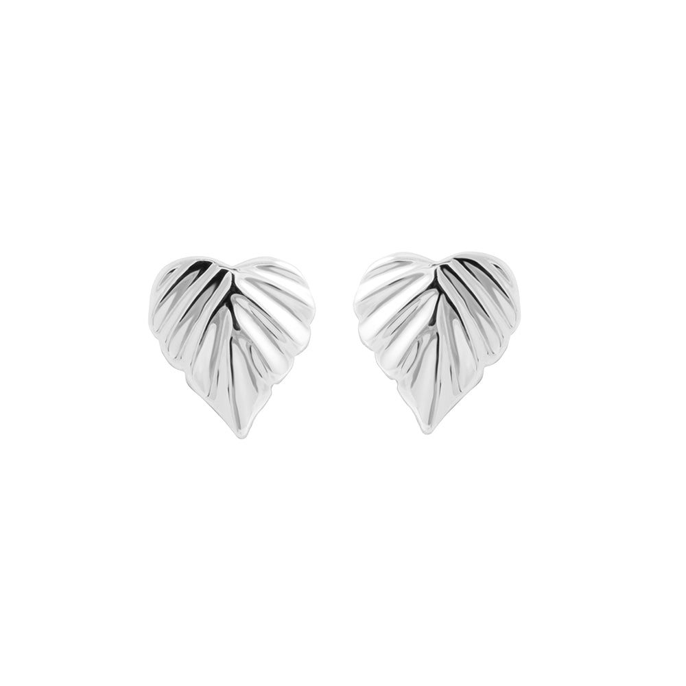 Wild |  Heartspace Studs |Sterling Silver|The Mint Republic