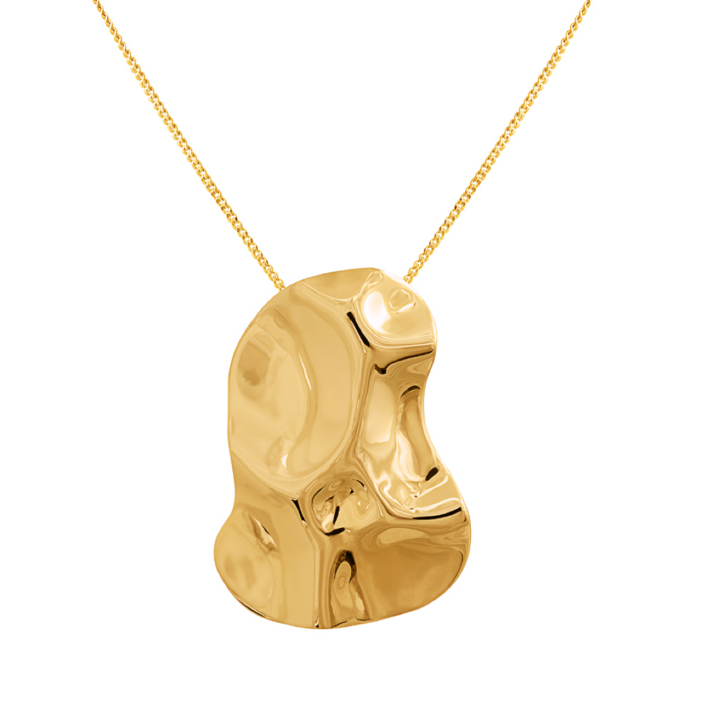 Republic Road Mirer Exquisite Necklace in Gold Available Now