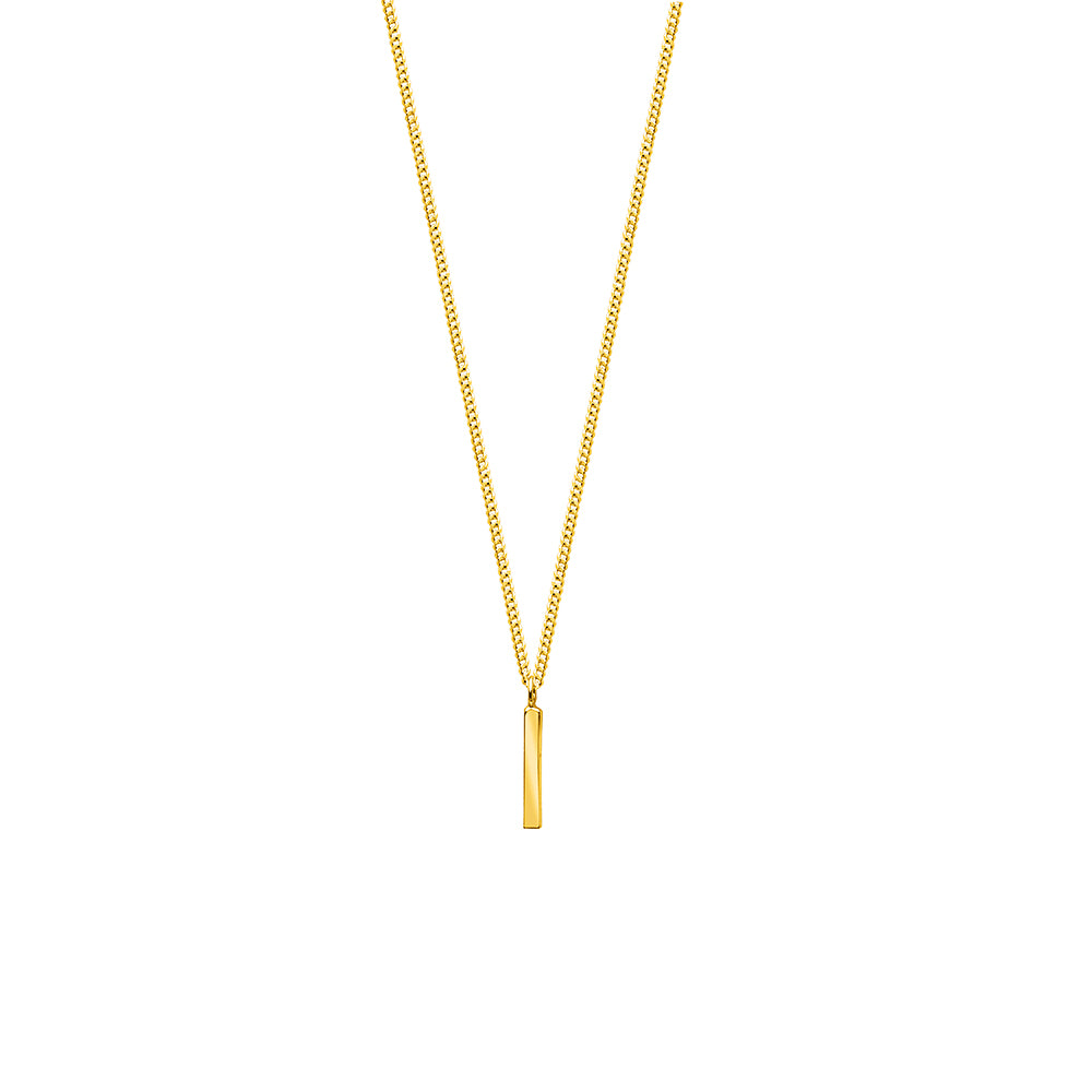 Fine Line Necklace Gold