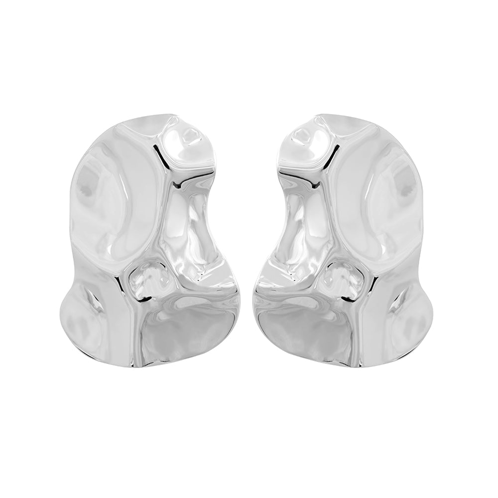 Republic Road Mirer Exquiste Studs Silver  | Available Now