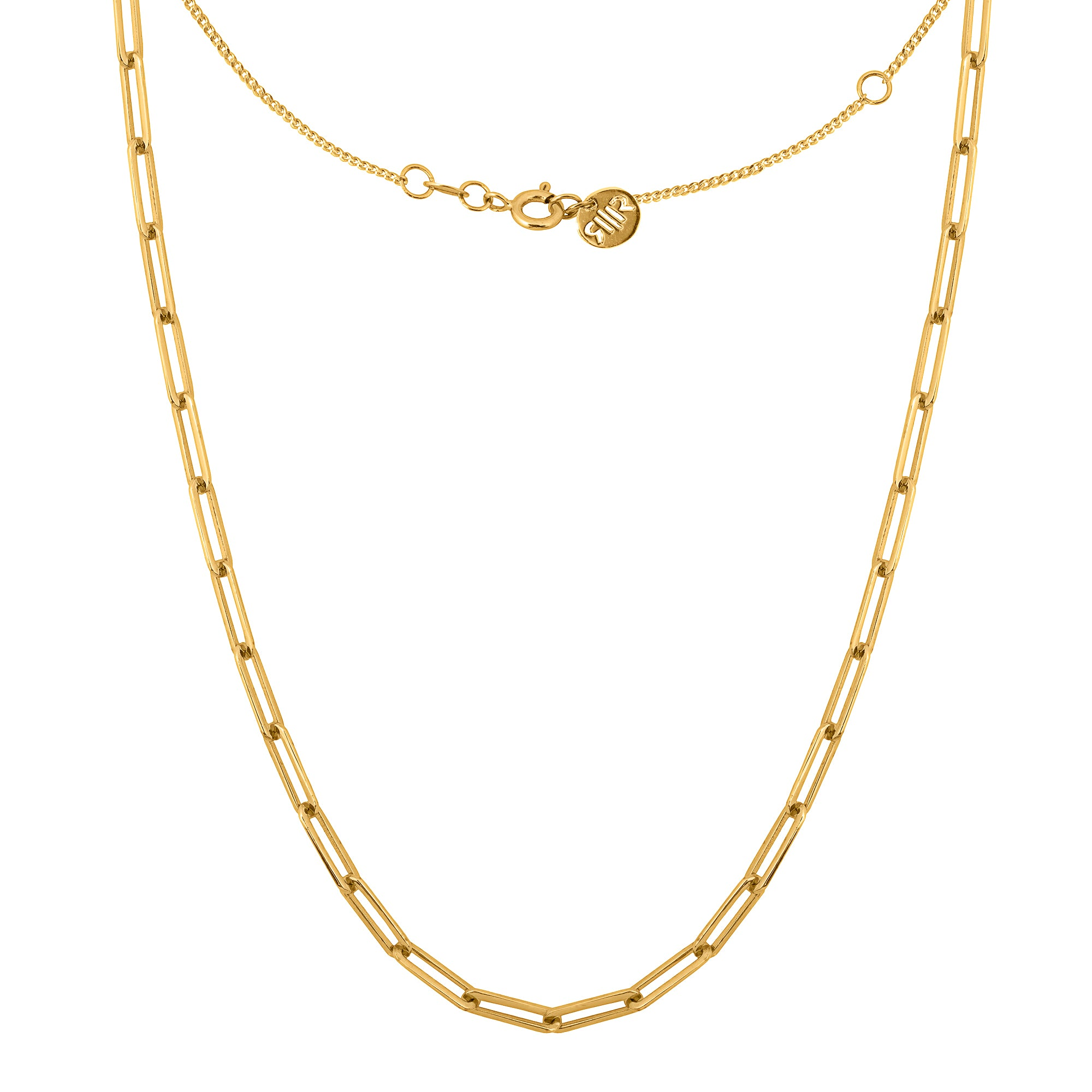 Revival Chain Necklace Gold