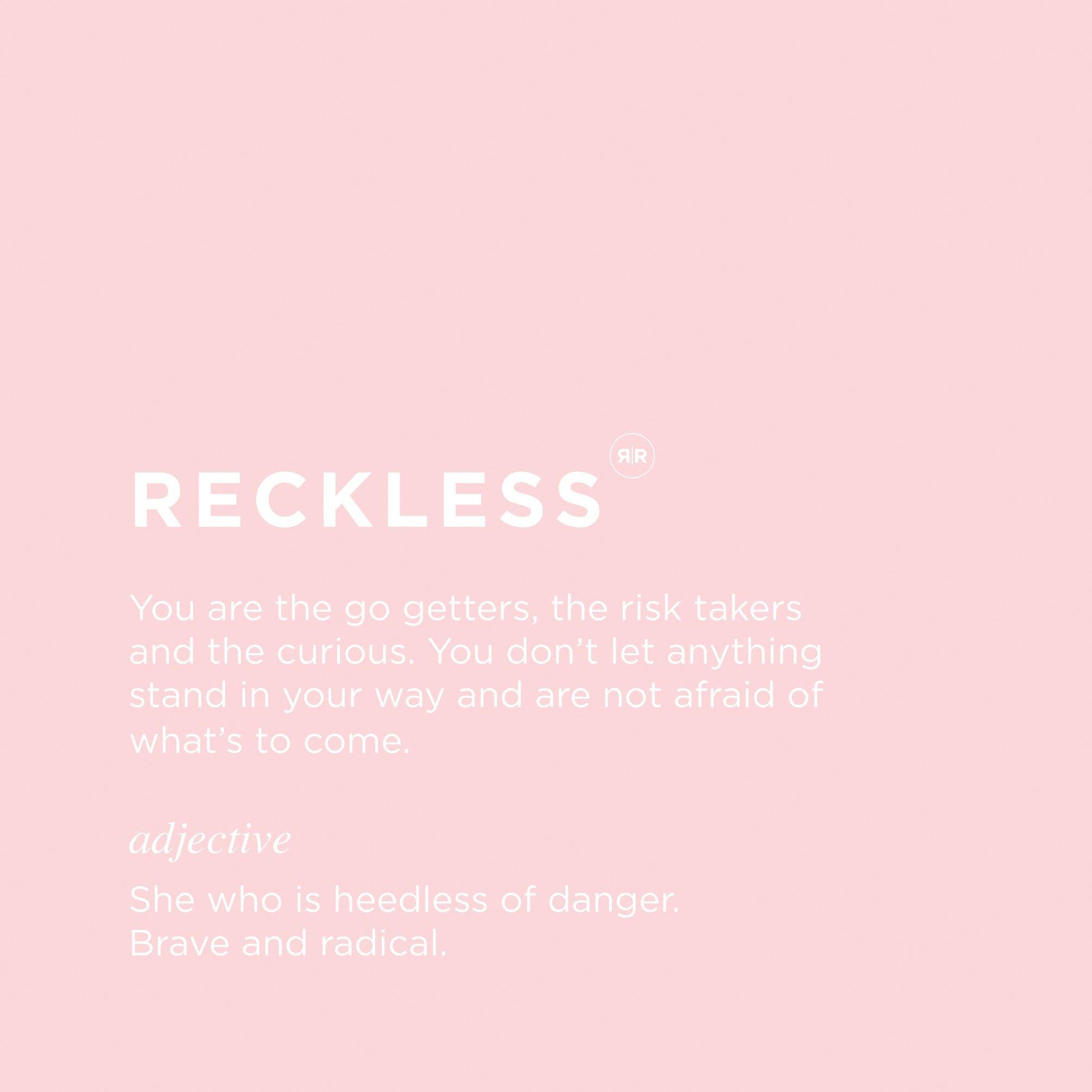 Republic Road | Reckless Muse Inspiration Card