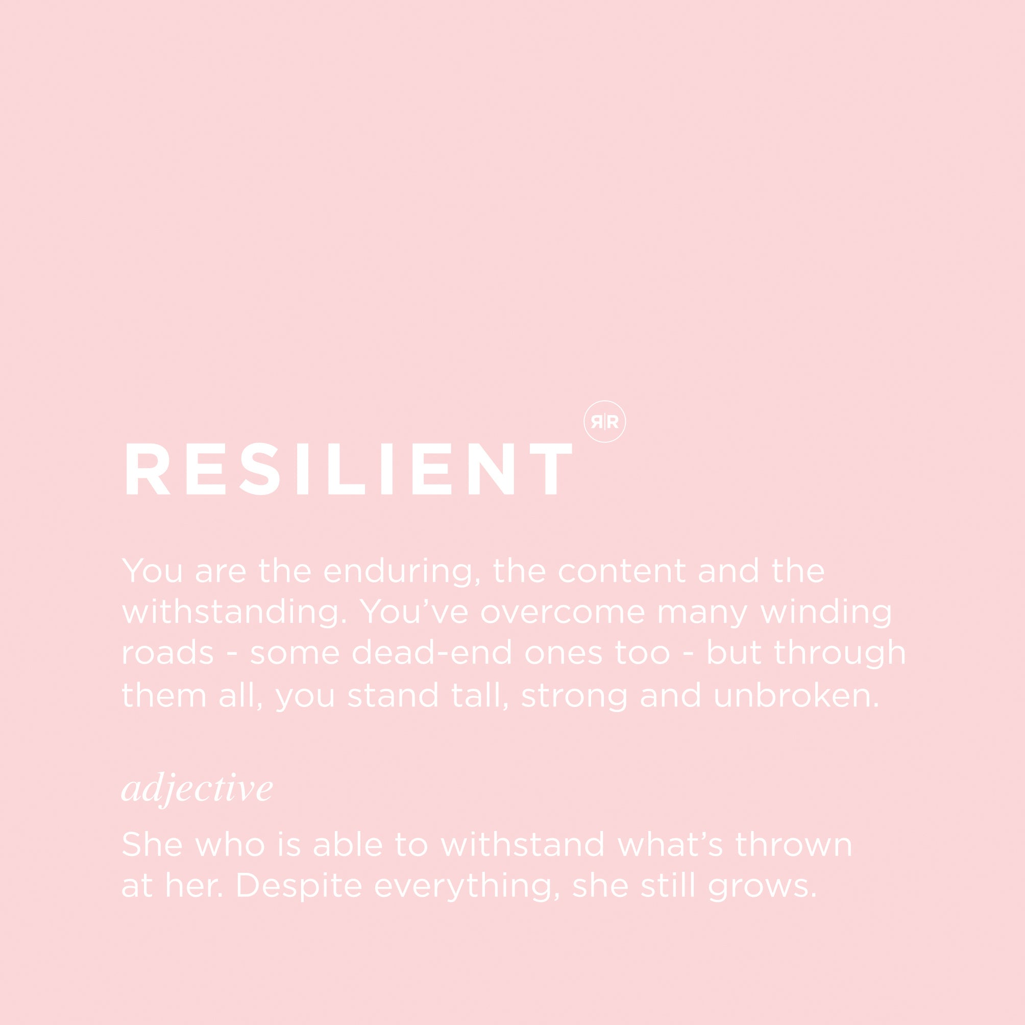 Republic Road | Resilient Muse Inspiration Card