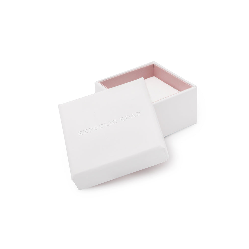 Republic Road White Ring Box