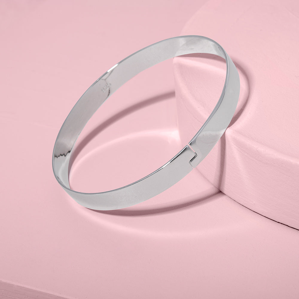 The Winding Road Bangle | Silver | Republic Road