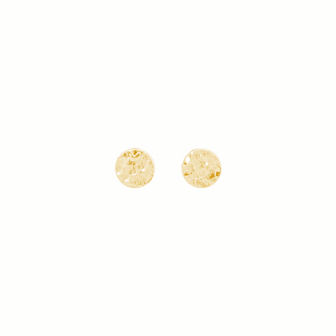 Solaris Studs Gold