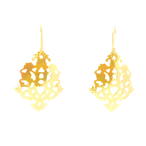 Solaris Sunflake Earrings