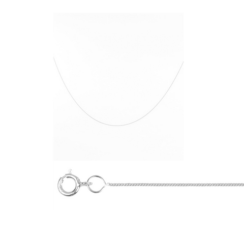 SAMPLE | Baby Fine Chain Silver