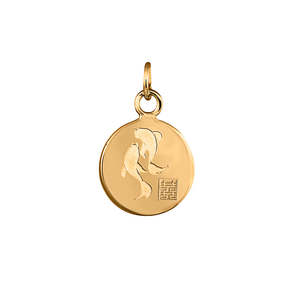Lindi Kingi Deluxe | Koi Fish Pendant Gold  (no chain )| available now at the Mint Republic