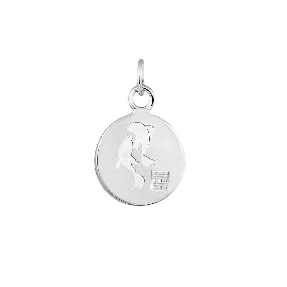 Lindi Kingi Deluxe Koi Fish Pendant Silver (no chain ) | Available Now at The Mint Republic