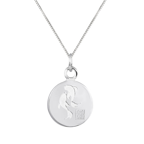 Lindi Kingi Deluxe Koi Fish Pendant Silver (with chain ) | Available Now at The Mint Republic