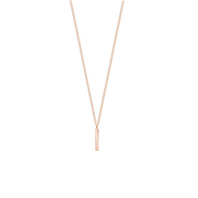 Fine Line Necklace ROSE
