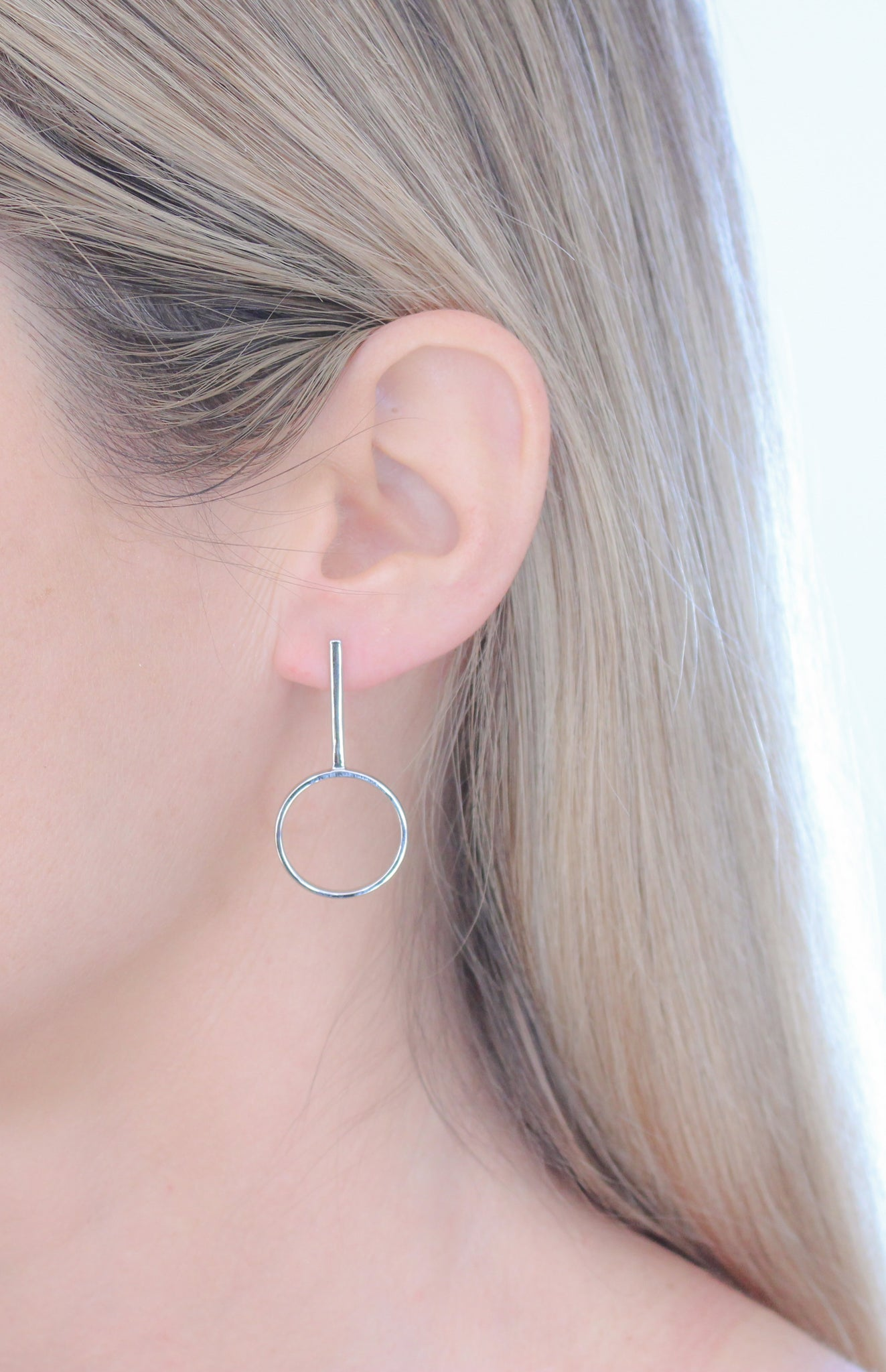 Clarity Earrings Silver