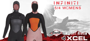 2017/18 5/4 Infiniti Hooded Womens Wetsuit Review by Seaside Surf Shop