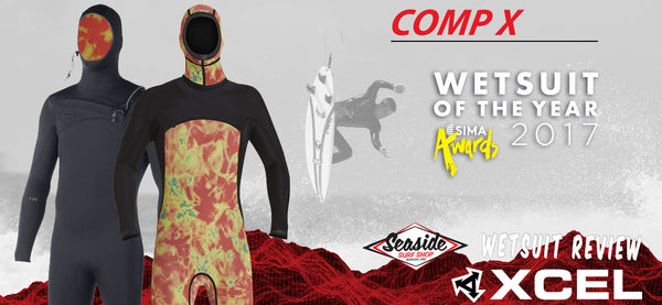 Xcel Men's Comp X Wetsuit Review 2017-2018