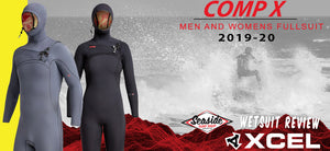 Xcel Men's and Women's Comp X Wetsuit Review 2019-2020
