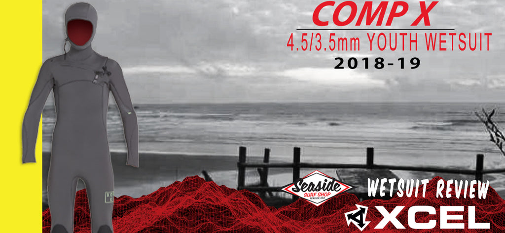Xcel Youth Hooded 4.5mm Comp X Wetsuit Review 2018-19