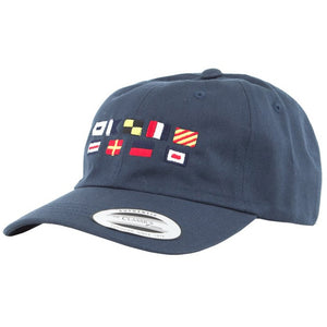 Salty Crew Mens Signals Dad Hat - Navy