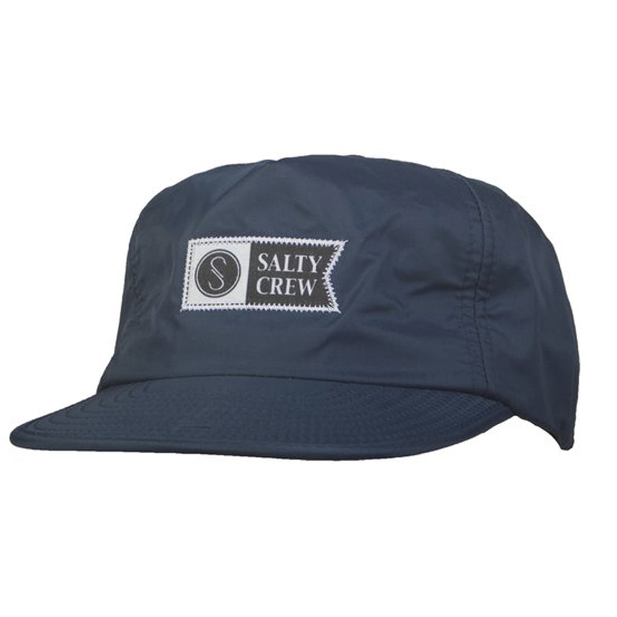 Salty Crew Mens Uni 5 Panel Cap - Navy