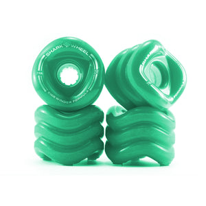 Shark Wheel Sidewinder 70mm 78A Set - Seafoam Teal-Shark Wheel-Seaside Surf Shop