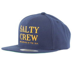 Salty Crew Mens Top Shot 5 Panel Cap - Navy
