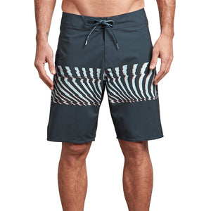 Volcom Mens Macaw Mod 20 Boardshort - Midnight  Blue