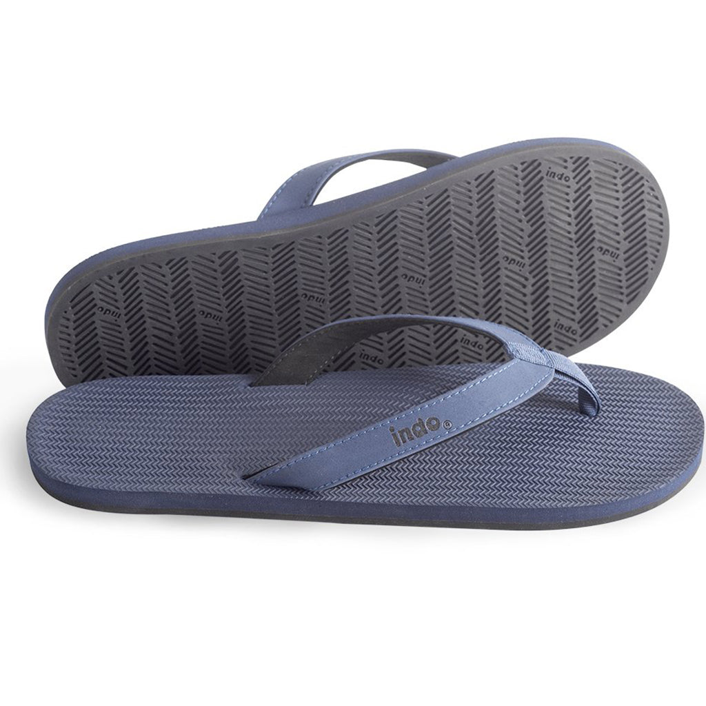 Indosole - Mens  ESSNTLS Flip Flops - Shore Blue - Seaside Surf Shop
