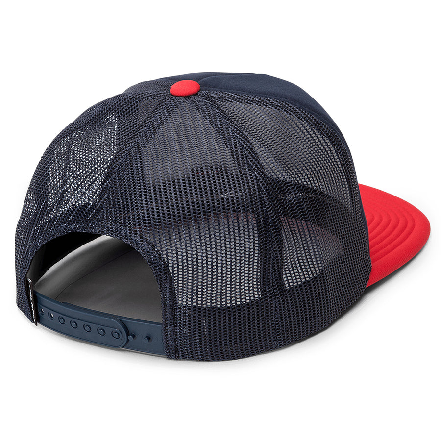 Volcom Mens Full Frontal Cheese Cap - Engine Red